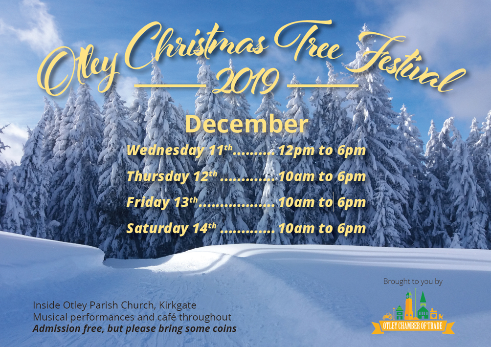 Otley Christmas Tree Festival 2019